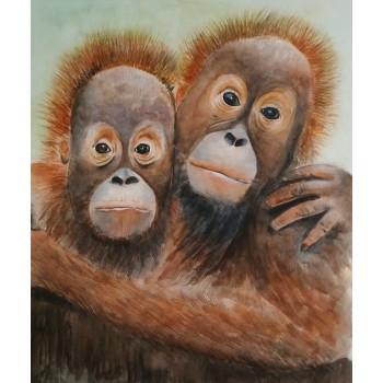 ART Lovely Monkeys